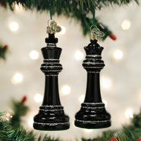 Old World Christmas - Chess Piece (Assorted) Ornament