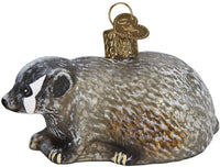 Old World Christmas - Vintage Badger Ornament