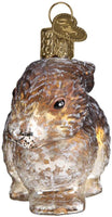 Old World Christmas - Vintage Cottontail Bunny Ornament