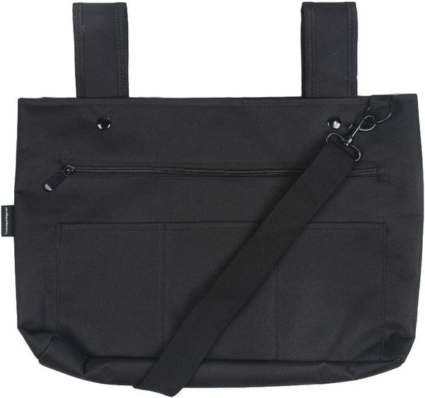 Snapster Snap On Tote Bag - Black