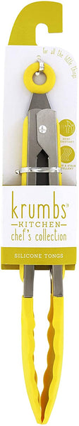 Krumbs Kitchen®  Chef's Collection  Silicone Tongs