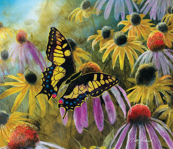 Swallowtail Visitor 550 Piece Puzzle