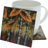 "Autumn Leaves Collection 4"" Coaster"