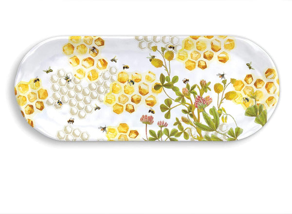 Honey & Clover Melamine Serveware Accent Tray