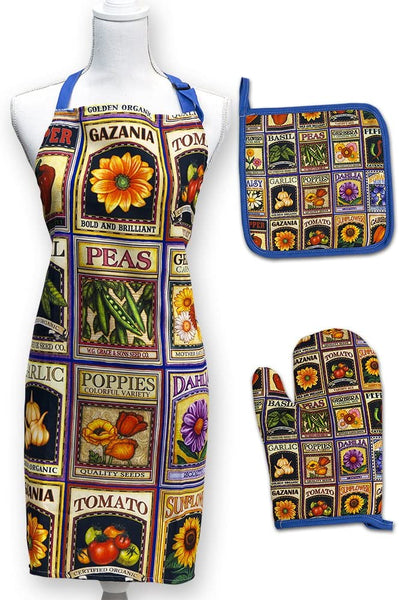 Apron Set - Garden Goodness