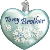 Old World Christmas - Brother Heart Ornament