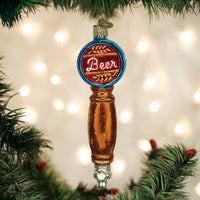 Old World Christmas - Beer Tap Ornament