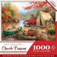 Chuck Pinson Gallery - Share The Outdoors 1000 Piece Linen Puzzle