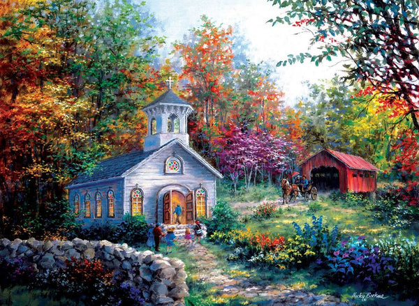 Worship in the Countryside 1500 Piece Puzzle