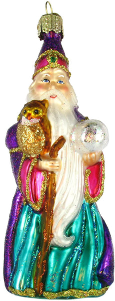 Old World Christmas - Wizard Ornament