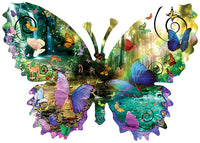 Forest Butterfly 1000 Piece Puzzle