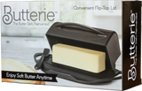 Butterie - The Butter Dish, Reinvented -  Black