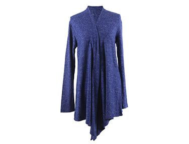 Hello Mello Carefree Threads Super Soft Flyaway Navy Cardigan