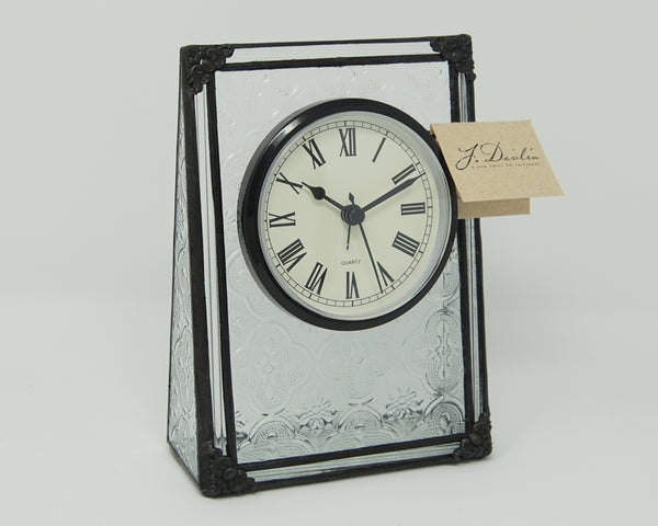 J. Devlin Glass Clock