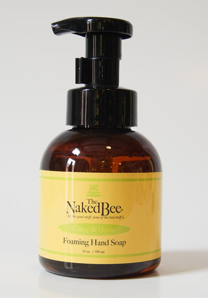 The Naked Bee Foaming Hand Soap Citron & Honey