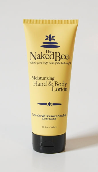 The Naked Bee Moisturizing Hand & Body Lotion Lavender & Beeswax