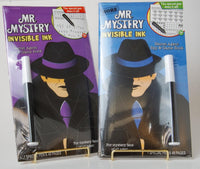 Mr. Mystery and More Mr. Mystery Invisible Ink Book Set of 2