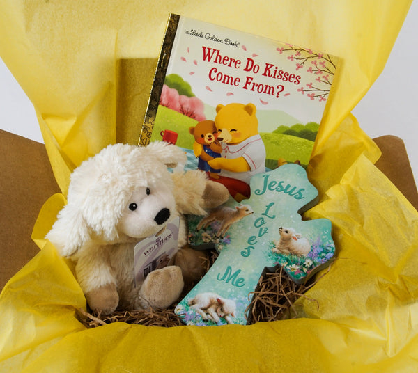 Little One's Care Package Gift Set - Like a hug in a box!
