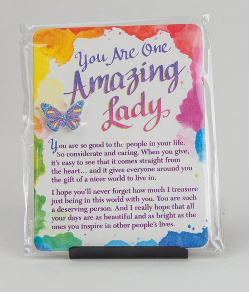 Blue Mountain Arts - You Are One Amazing Lady Magnet/Plaque