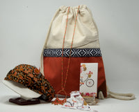 Gift Box Collection - Boho Coral Backpack