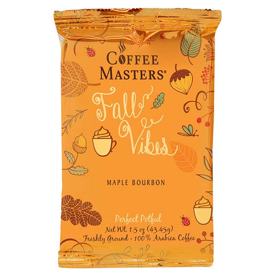 Coffee Masters 1.5 oz Perfect Potful - Maple Bourbon