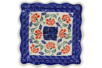 Polish Pottery - Scalloped Platter