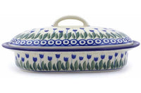 Polish Pottery - Baker w/ Cover