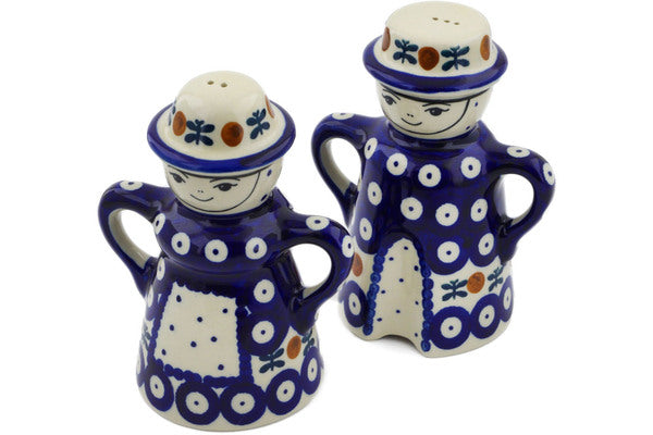 Polish Pottery - Salt & Pepper Set