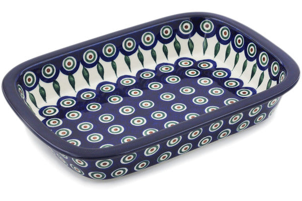 Polish Pottery - Rectangular Baker