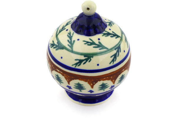 Polish Pottery - Ornament Christmas Ball