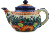 Polish Pottery - Tea or Coffee Pot