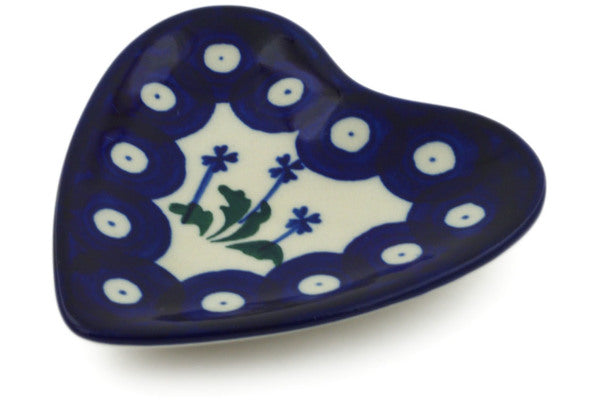 Polish Pottery - Tea Bag/Lemon Plate