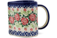 Polish Pottery - Heart Mug (Set of 4)