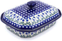 Polish Pottery - Dish w/ Cover