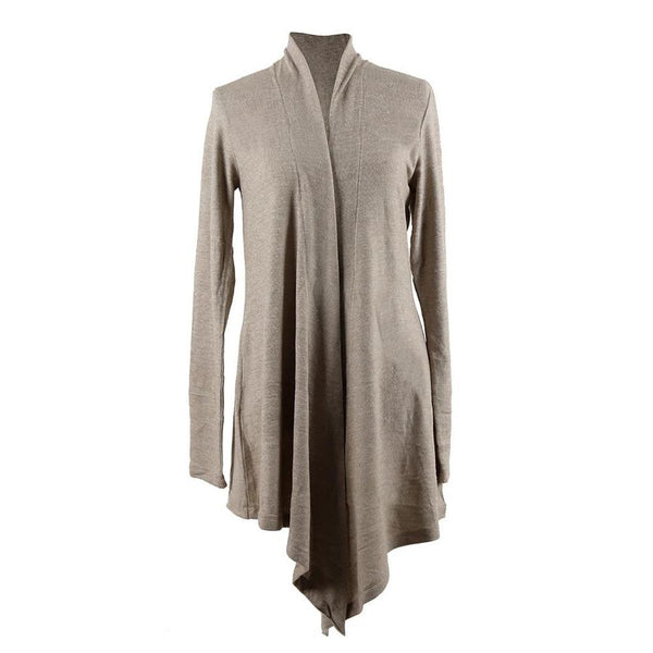 Hello Mello Carefree Threads Super Soft Flyaway Oat Cardigan