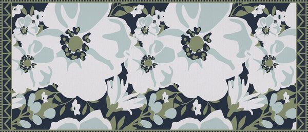 SoftWoven™ Signature Contempo Floral Laundry Rug