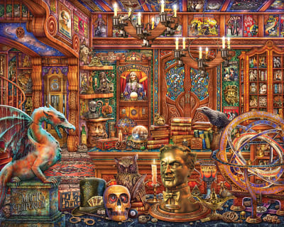 Magic Emporium 500 Piece Puzzle