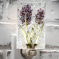 J. Devlin Night Light - Purple Flower