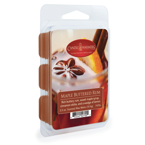 Maple Buttered Rum 2.5 oz Wax Melts