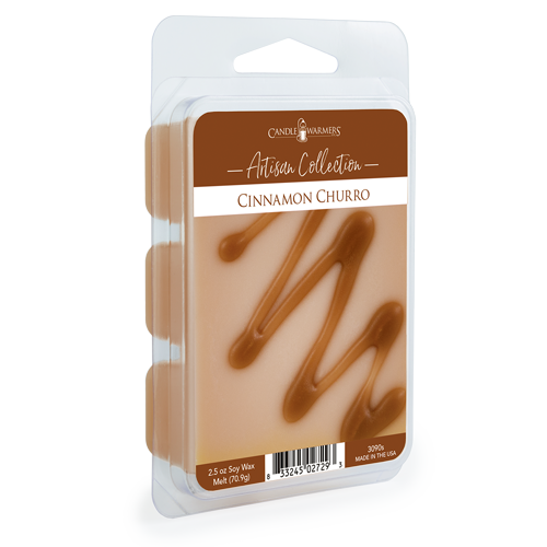 Cinnamon Churro 2.5 oz Artisan Wax Melts