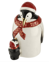 Penguin Candy Jar