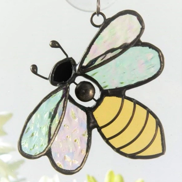 J. Devlin Glass Bee Ornament