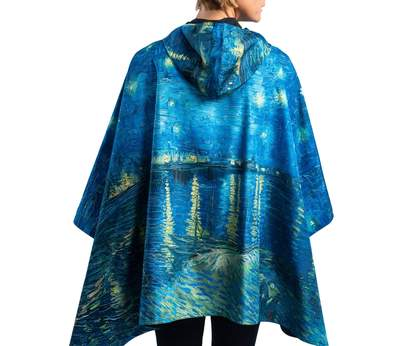 Reversible Rain Capes - Van Gogh Over the Rhone