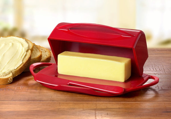 Butterie - The Butter Dish, Reinvented -  Red