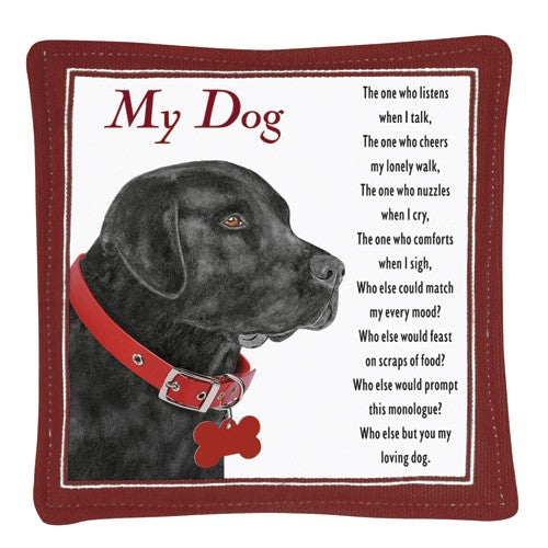 Mug Mats (Set of 4) - Black Lab