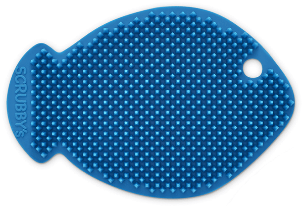 Scrubby's Silicone Sponges - Fish