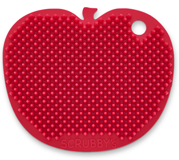 Scrubby's Silicone Sponges - Apple