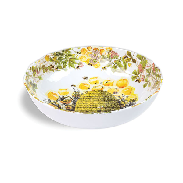 Honey & Clover Melamine Serveware Bistro Bowl