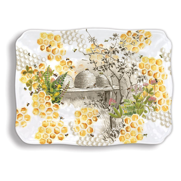Honey & Clover Melamine Serveware Large Platter