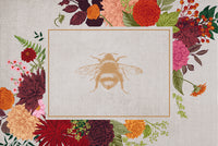 SoftWoven™ Cottage Queen Bee Rug